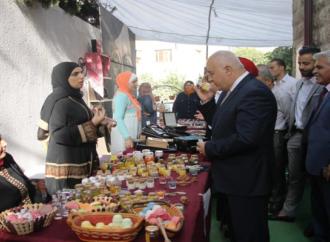 بازار ومعرض جاليري إطلالة اللويبدة – بقلم : زياد جيوسي