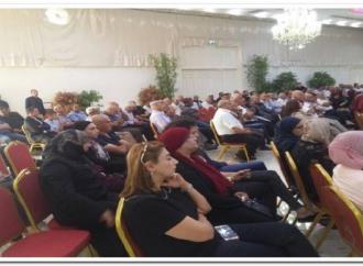 حفل تابين  الشاعر والمفكر الفلسطيني أحمد حسين – بقلم : شاكر فريد حسن