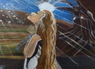 لوحة للفنانة سحر عزام – بقلم : زياد جيوسي