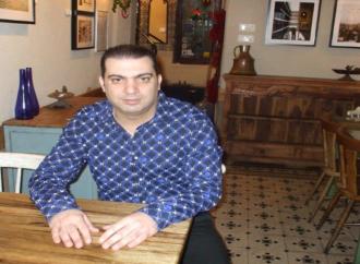 """لقاء مع الموسيقي والمطرب  والفنان """" إلياس عطا الله """"  –  بقلم : حاتم جوعية"""