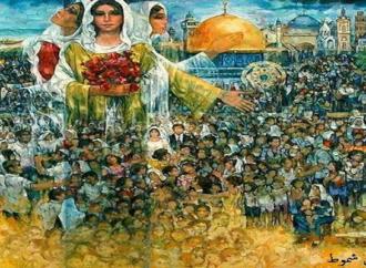 ذاكرة القدس في الفن التشكيلي الفلسطيني* بقلم : زياد جيوسي