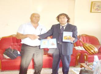 صدورُ كتابٍ  جديد  للكاتبِ والأديب الأستاذ  أحمد  حسين عبد الحليم  كتب مقدمته الدكتور حاتم  جوعيه