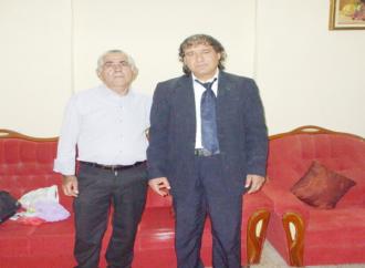 لقاء مع الشاعر والأديب  راضي مشيلح  – أجرى اللقاء د. حاتم جوعية